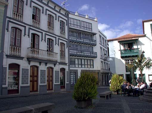 La Palma: Eine Plaza in Santa Cruz